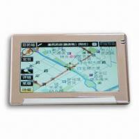 Buy cheap Portable GPS with Bluetooth Function and 4.3-inch Samsung Super Hi-clear Digital Touching TFT LCD product