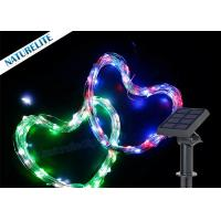China Solar Christmas LED Cooper Wire String Light 60led/M Waterproof Shape Light on sale