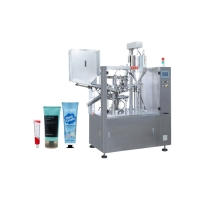Buy cheap Aluminum Toothpaste Automatic Tube Filling And Sealing Machine product