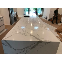 """Buy cheap 125""""×65"""" Polished Quartz Stone Countertops For Home Decoration from wholesalers"""
