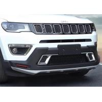 Buy cheap Solid Car Bumper Guard Front And Rear fit for JEEP Compass 2017 product