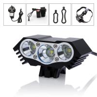 Buy cheap Super Bright 6000Lm 3x CREE XM-L U2 Dynamo Bicycle Light Aluminum Alloy from wholesalers