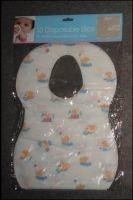 Buy cheap Eco Friendly Nonwoven Disposable Baby Bibs For Feeding SGS CE ISO OEM Service product