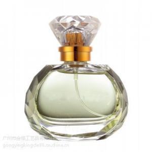 Parfum hexagonal bottles30ml50ml en verre de couverture de sarin de diamant
