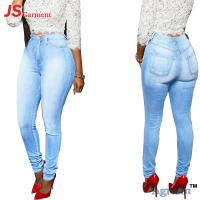 Full Length Ladies Jeans Pant Zipper Fly Stretch Skinny Jeans Ladies
