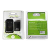 China For Xbox 360 Rechargeable Battery Pack with Charging Dock 2 in 1 use Blac and White color on sale