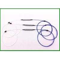 Buy cheap 1310nm SM Single Fiber Optic Isolator with 0.9mm cable in steel tube for Optical Amplifiers from wholesalers