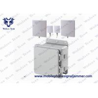 Buy cheap Middle WiFi2.4 GSM 3G Cell phone Jammer with IR Remote Control 4G LTE/Wimax product