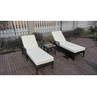 China Comfortable Rattan Sun Lounger wholesale