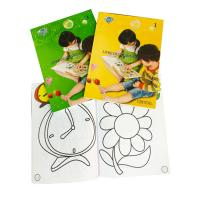Buy cheap Glossy Lamination Personalised Stationery Gifts Kid' S Color Filling Book product