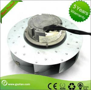 Buy cheap ventilador de fan similar del motor de la EC de EBM, fan centrífuga al revés curvada del conducto product
