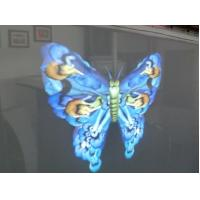 Buy cheap White Grey 3d Holographic Film Net Screen Up To 10x50m Front Rear Projection product