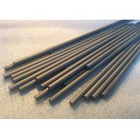 Unground Solid Carbide Rods  0.8um Grain Customizable Size For End Mills