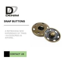 Buy cheap Brass Custom  On Snap Buttons For Overcoat Down Jacket / Cotton - Padded Clothes product