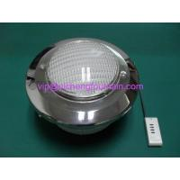 China Ring Surface Above Ground Pool Lights Underwater ABS White Light Body / Niche wholesale
