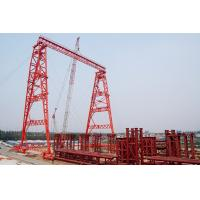China OEM Rubber Tyred Steel Gantry Crane With Trolley on sale