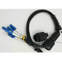 Buy cheap PDLC 2 / 4 / 6 Cores Fiber Optic Outdoor Cable Insertion Loss < 0.3dB from wholesalers