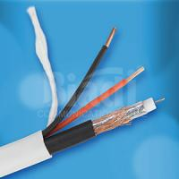 Buy cheap RG6+2C CCTV Camera cable with 2core BC/CCA Power wire from China manufacturer product