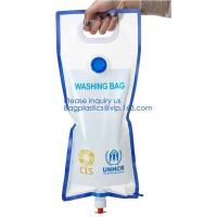 5L BPA Free Collapsible Water Bottle Foldable plastic Water Bag for Promotional/Camping/Climbing/Picnic/BBQ bagease pack