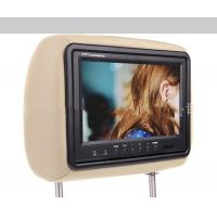 HD 1080P Car Pillow Monitors PAL / NTSC Video Frequency Supports IR Transmitter
