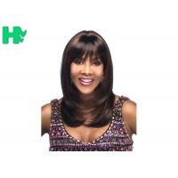 Buy cheap Celebrity Synthetic Hair Wig Long Natural Straight Full Snood Wig For Women product