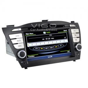 Buy cheap Remote Control Hyundai Sat Nav Car Stereo HD Navigation product