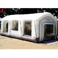 China Automotive Mini Outdoor Mobile Portable Car Inflatable Spray Paint Booth White Color on sale