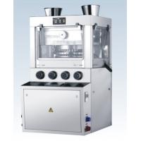 Chicken Stock Cube Rotary Tablet Press Machine With Hard Chrome Coating Punches & Dies