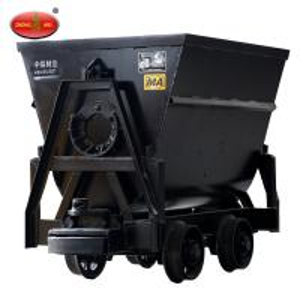 Buy cheap Underground Mining KFU0.55-6 0.55 m3 Mine Cart Bucket-Tipping Mine Wagon product