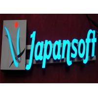 acrylic metal led illuminated channel letters for. Black Bedroom Furniture Sets. Home Design Ideas
