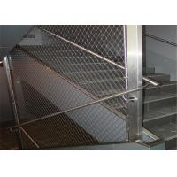 Buy cheap 7x7 7x19 Ferruled Stainless Steel Rope Mesh Netting / Architectural Wire Rope Mesh product