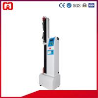 Buy cheap Floor Type Single Column Tensile Testing Machine (Microcomputer), 5-500KG Domestic Sensor, Panel Control product