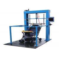 Buy cheap Vertical Toys Testing Equipment Baby Stroller Product Testing Equipment 600Kg Weight product