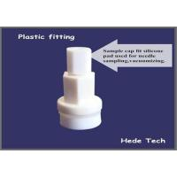 Buy cheap Plastic fitting with silicone septum port syringe sampling   gas sampling bag  air sample bags product