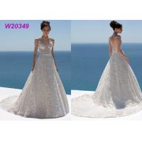 Buy cheap Sweetheart Neckline Spaghetti Straps Floral Lace and Tulle Bridal Ball Gowns product
