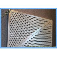 China Expanded Aluminium Perforated Metal Mesh Screen Sheet For Construction Field on sale