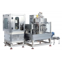 Buy cheap 12000BPH 330ml Automatic Rotary Beverage Can Filling Machine product