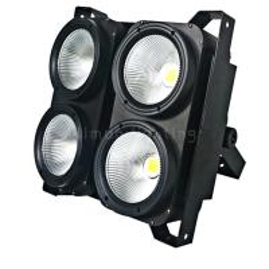 Buy cheap Four Eyes Warm White DMX LED COB Blinder 4x100w Wash Strobe Effect Stage Equipment product