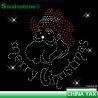 Buy cheap Christmas rhinestone motif heat transfer;rhinestone heat transfer motif from wholesalers