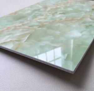 Buy cheap O PVC de alta qualidade imitou a placa de mármore product