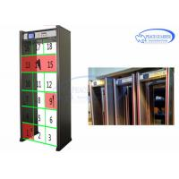 Buy cheap 8 Detection Zone Door Frame Metal Detector For Railway / Bus Station product