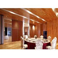Buy cheap Sound Insulation Sliding Partition Wall For Home , Sliding Room Dividers  HPL Finish product