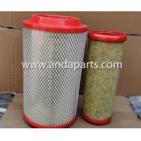 Buy cheap Good Quality Air Filter For FAW Truck 1109060-LT062 1109070-D130 product