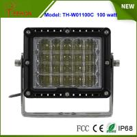 """China 8"""" 100W LED Work Light Spot or flood Beam for Heavy Duty Driving Light for jeep,truck,suv wholesale"""