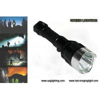 Buy cheap IP67 10W Rechargeable Torch Light, 25000 Lux 1200 High Lumen Flashlight product