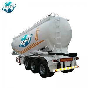 Buy cheap stainless steel Tri-axles 30-60cbm 3 axles bulk cement tank semi trailer product