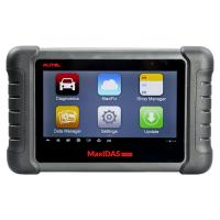 Buy cheap AUTEL MaxiDAS DS808 KIT Tablet Auto Diagnostic Tools Full Set Support Injector & Key Coding product