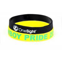 Buy cheap Personalized Sports Silicone Wristbands For Office , Party Non Toxic product