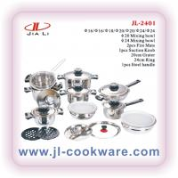 Buy cheap kitchen cookware set with bakelite handle & thermometer knobs product