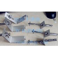Buy cheap C fixings , L SHARP .stainless steel anchor , stone cladding fixing,L anchhor,Z anchor.anchor bolt product